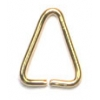 Bail Plain Gold 6X7mm